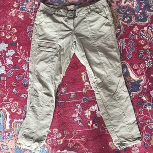J crew City Fit cargo pants.